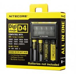 Polnilec Nitecore Digicharger D4 (za baterijske vložke)