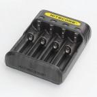 Polnilec Nitecore Q4 (za baterijske vložke)