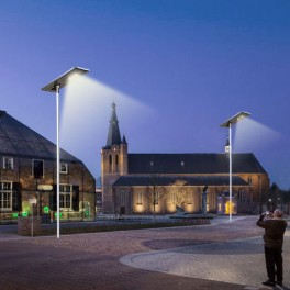 Visokozmogljiva solarna LED ulična razsvetljava