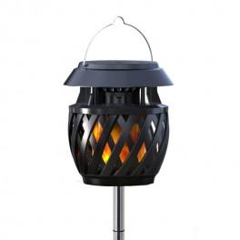LED solarna svetilka z utripajočim plamenom