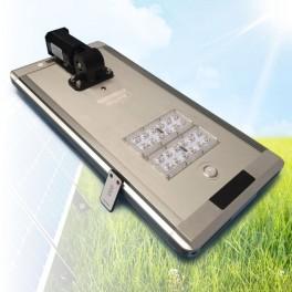 Solarna LED ulična svetilka 30W, vse v enem, daljinec za upravljanje