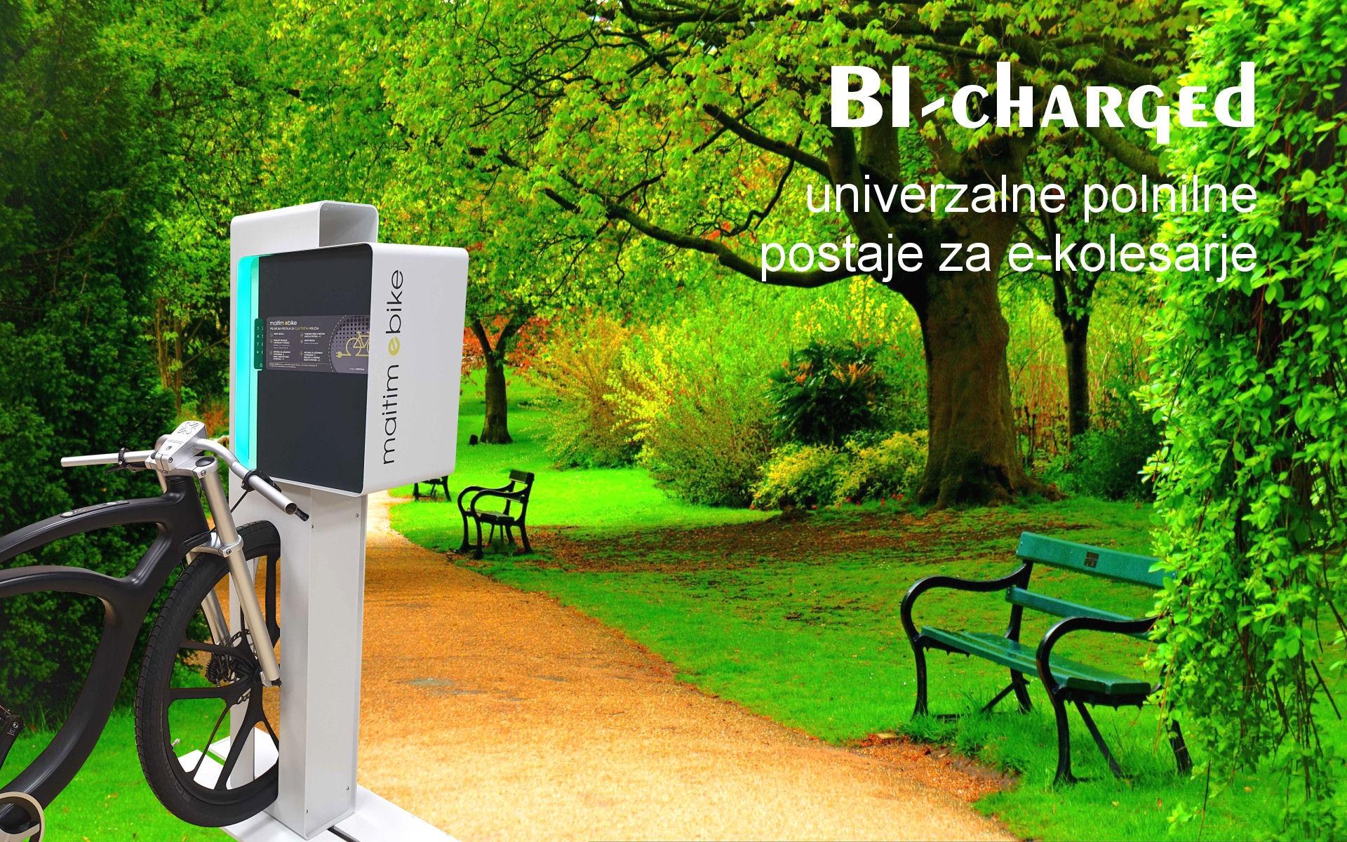 Polnilne postaje za e-kolesa