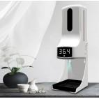 Samostoječi brezkontaktni termometer z avtomatskim razkuževalnikom MRT-15PRO
